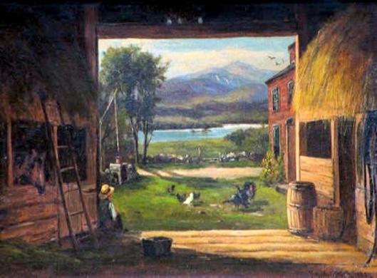 Old Barn, Bridgton, Maine