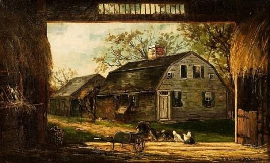 Old Barn, Duxbury, Mass.