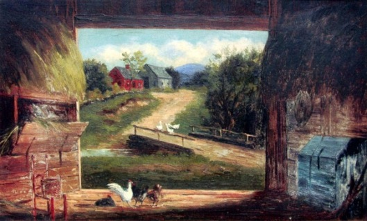 Old Barn In Bartlett, NH