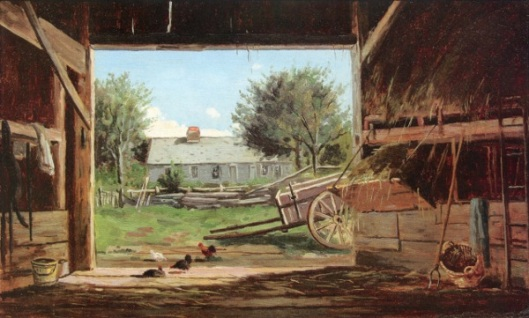 Old Barn In Eaton, NH