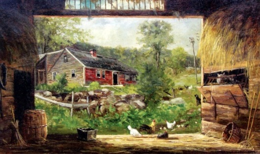 Old Barn In Jackson, NH