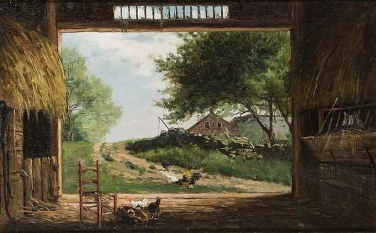Old Barn, New England