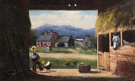 Old Barn, New Hampshire