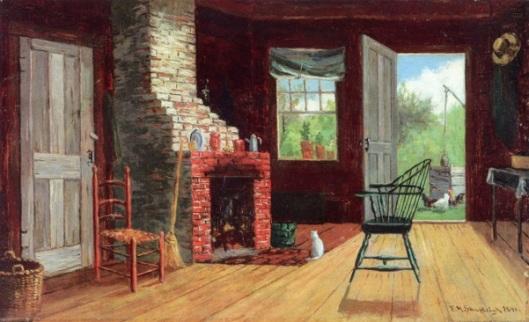 Old Kitchen In Bartlett, NH