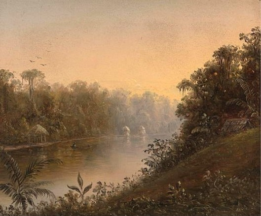 Tropical River Landscape