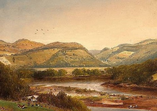 View Of The Upper Delaware