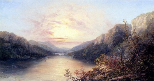 A View Of The Palisades, New York