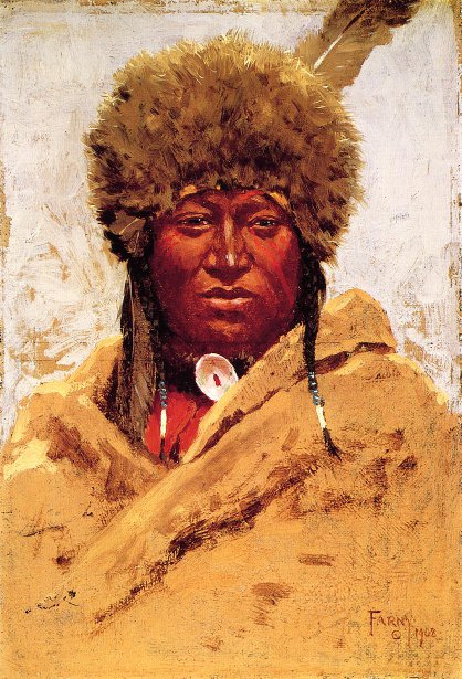 Indian Head - Chief Little Bear