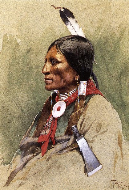 Indian Portrait - Indian Head