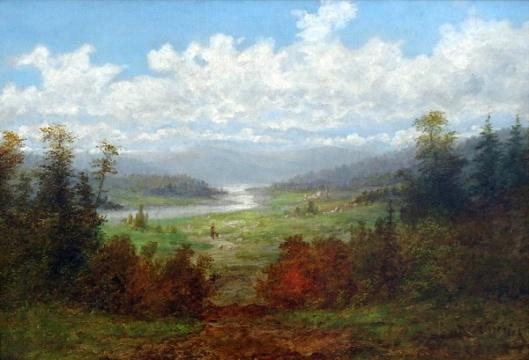 Linville River Landscape