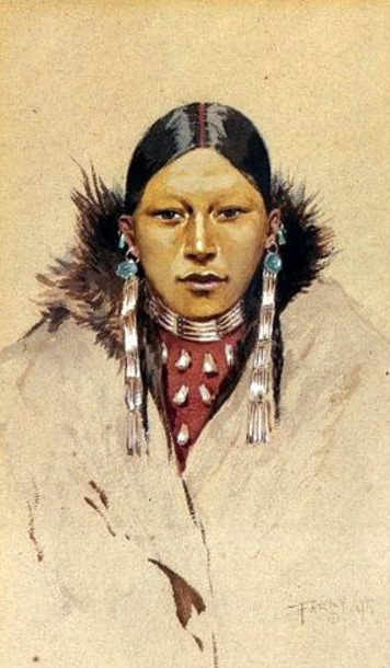 Portrait Of A Squaw