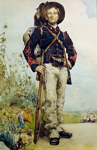 Soldier - Militia Man