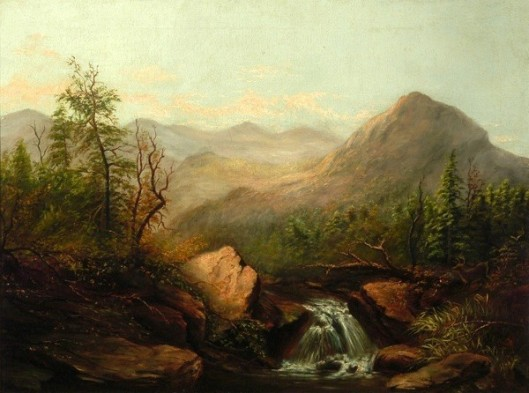 Southern Landscape With Waterfall