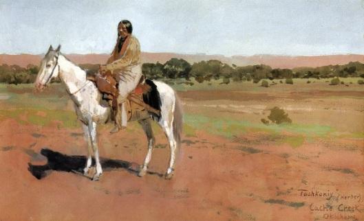 Tashkoniy, Herder Cache Creek, Oklahoma