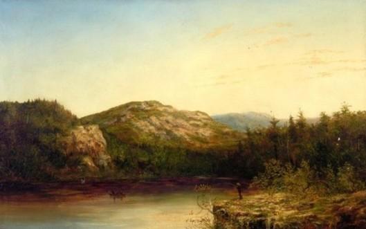 Twilight On Lake Winnepisseogee