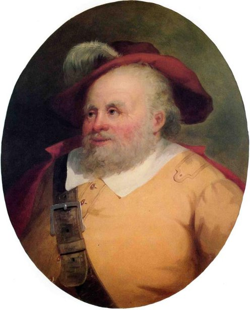 James Hackett As Falstaff