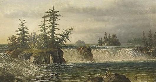 Lachine Rapids, St. Lawrence River