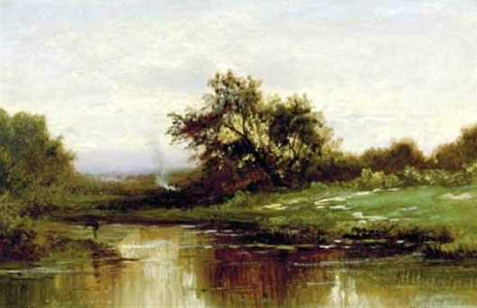 Landscape, River Bank