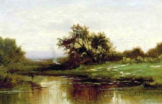 Landscape, River Bank