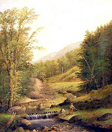 Rural Fishing Scene