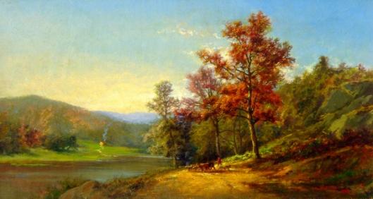 Scene On The Potomac River