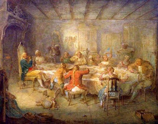 A Knickerbocker Tea Party