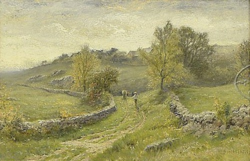 A Lane Among Rolling Hills