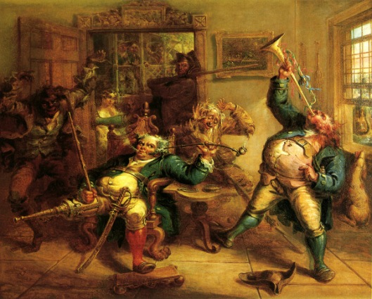 Anthony Van Corlear Brought Into The Presence Of Peter Stuyvesant