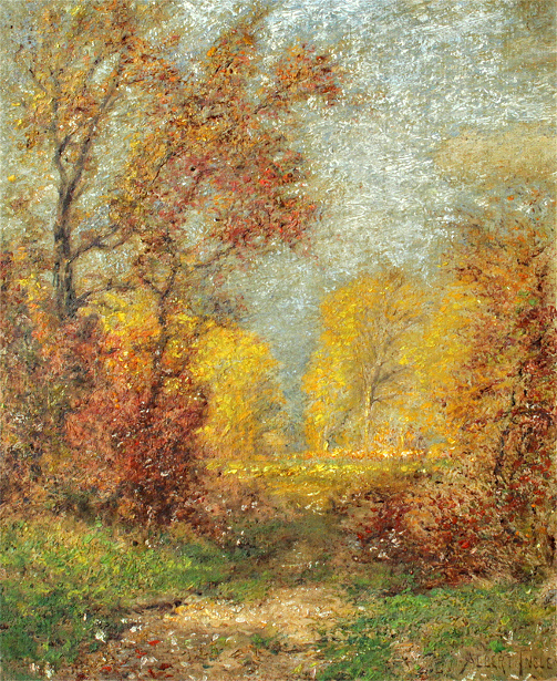 Autumnal Landscape With Path