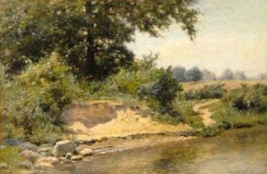 Riverbank Landscape