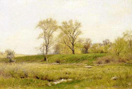 Spring Landscape - Springfield, Mass.
