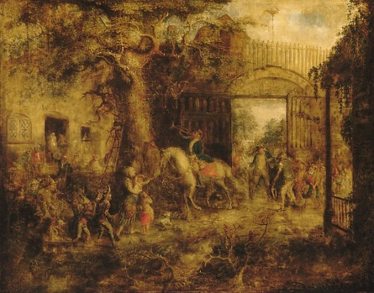 The Vigilant Stuyvesant's Wall Street Gate