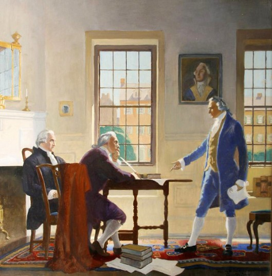 A Meeting With Washington