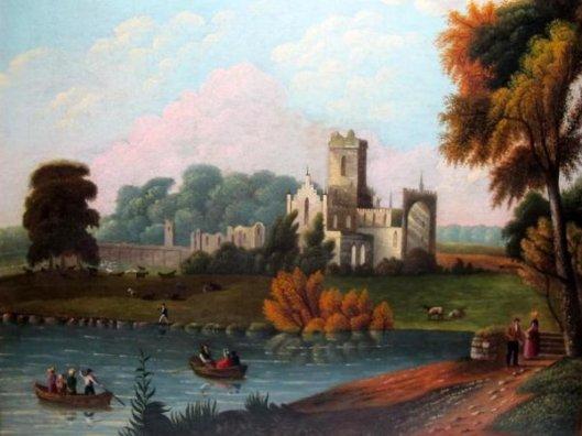 A Rhine River Castle