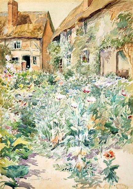 Cottage Garden, Warwick, England