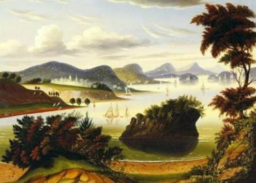 Eastport And Passamaquoddy Bay - View Of Hudson Valley
