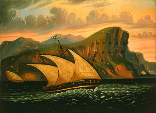 Felucca Off Gibraltar