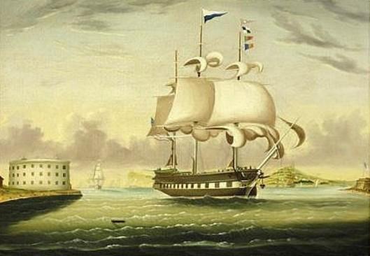 Packet Ship George Washington