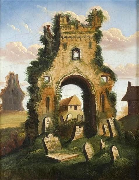 Ruins And Graveyard