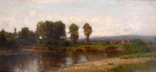 A Quiet River Landscape