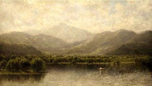 Fisherman On An Oriental Bay