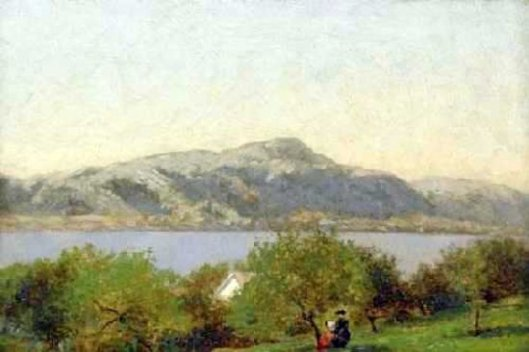 Sketch At Hague, Lake George