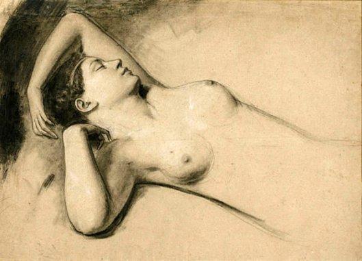 Ariadne Of Naxos (study)