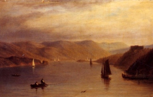 Boats On The Hudson River