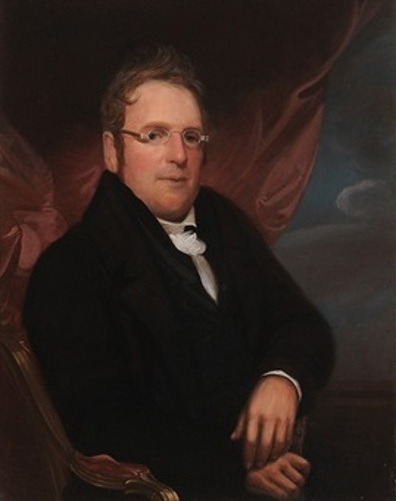 Seated Gentleman Wearing Spectacles