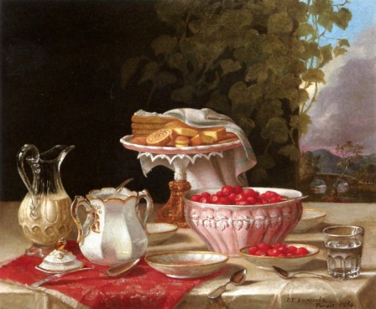 Strawberries And Cakes