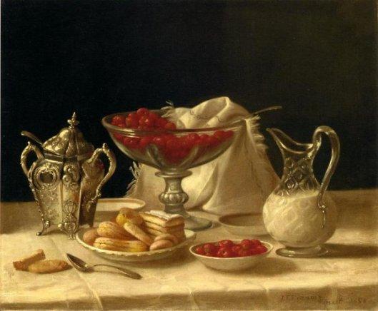 Strawberries, Cakes And Cream