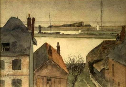The Harbour At Etaples