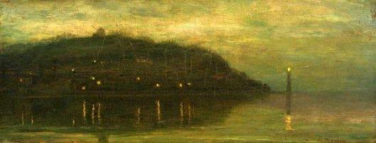 Twilight Near Honfleur