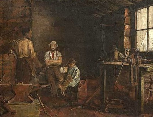A Blacksmith's Shanty, Franklin County, New York